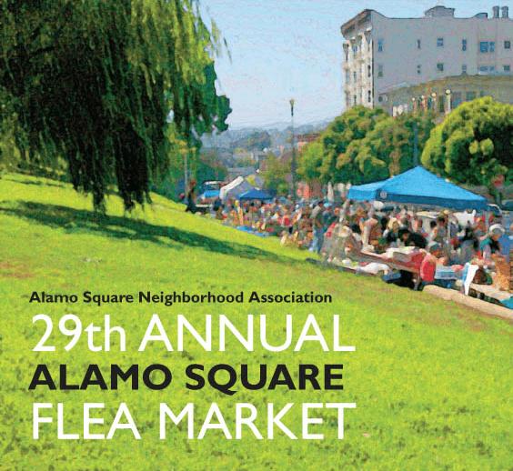 Weekend Agenda: The Alamo Square Flea Market