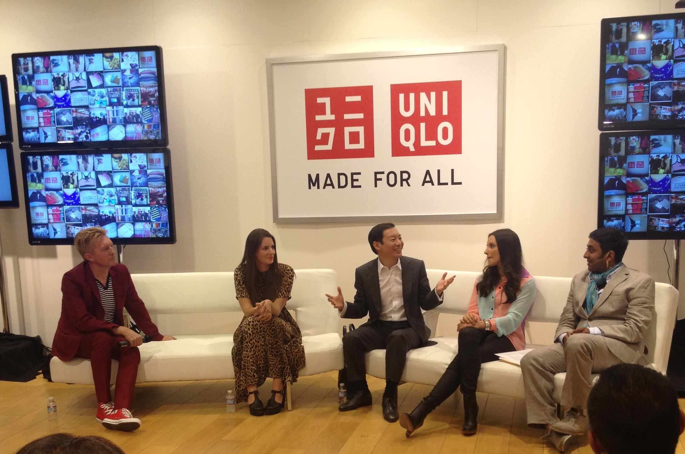 Keanan Duffty Talks Fashion + Tech at UNIQLO