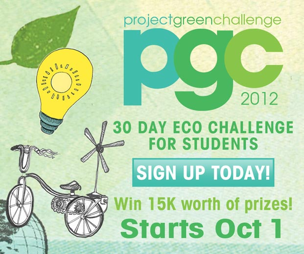 Sign-Up Today – Project Green Challenge!