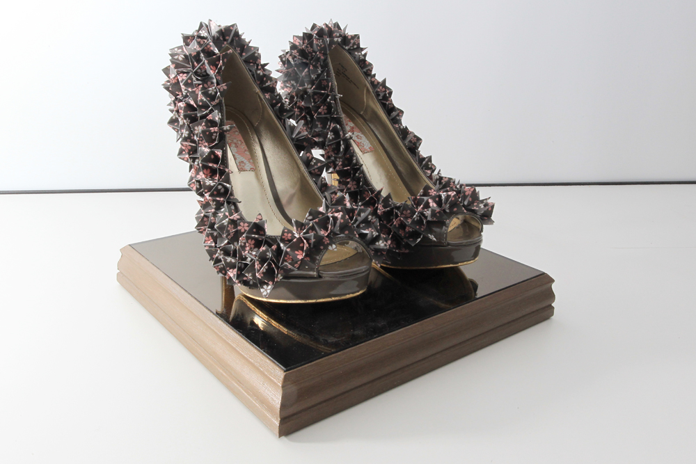 Fashion Student Art Supports Life In Our Shoes