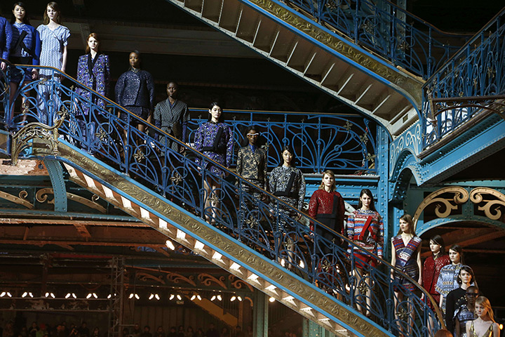 Creations by designers Humberto Leon and Carol Lim for Japanese Kenzo