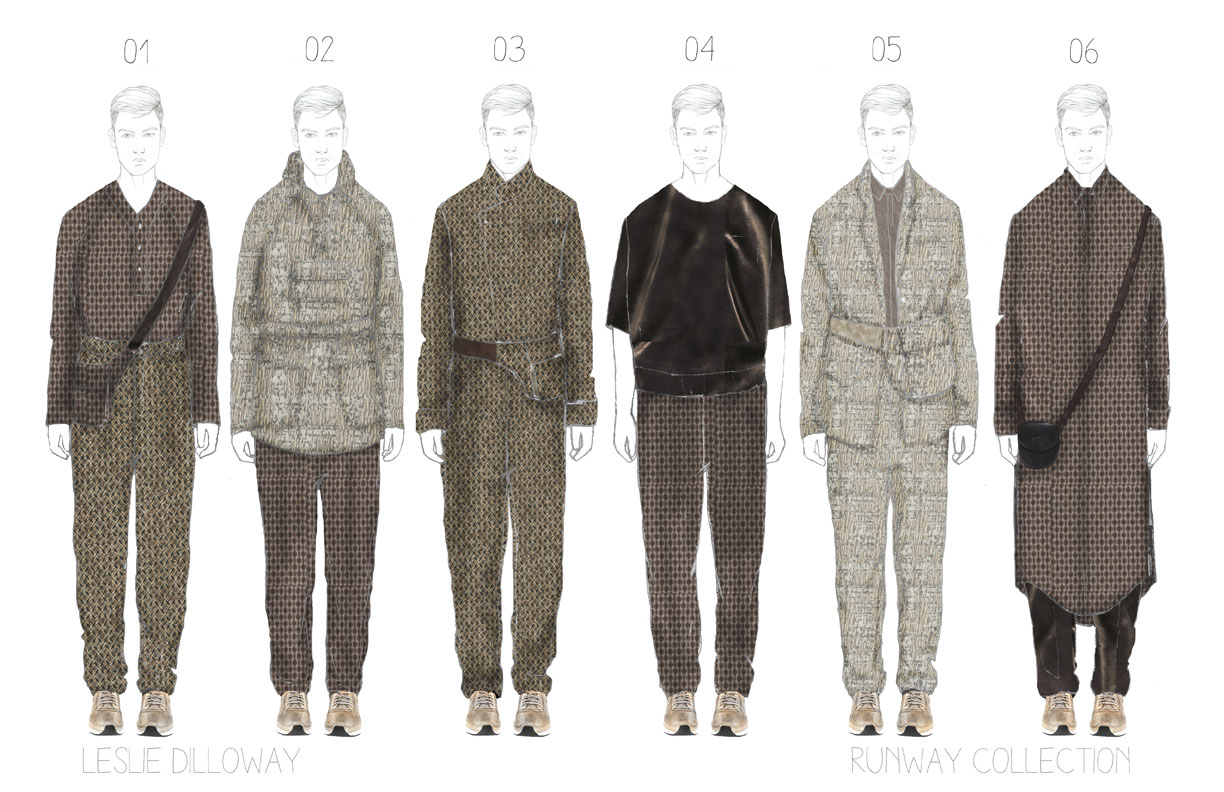 Academy of Art University Spring '14 Designer Dossier – Leslie Dilloway