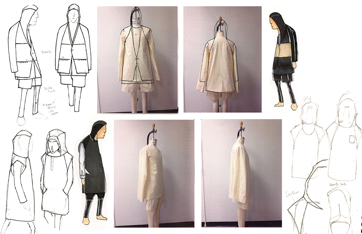 Design Process for Fall 2014 Collection