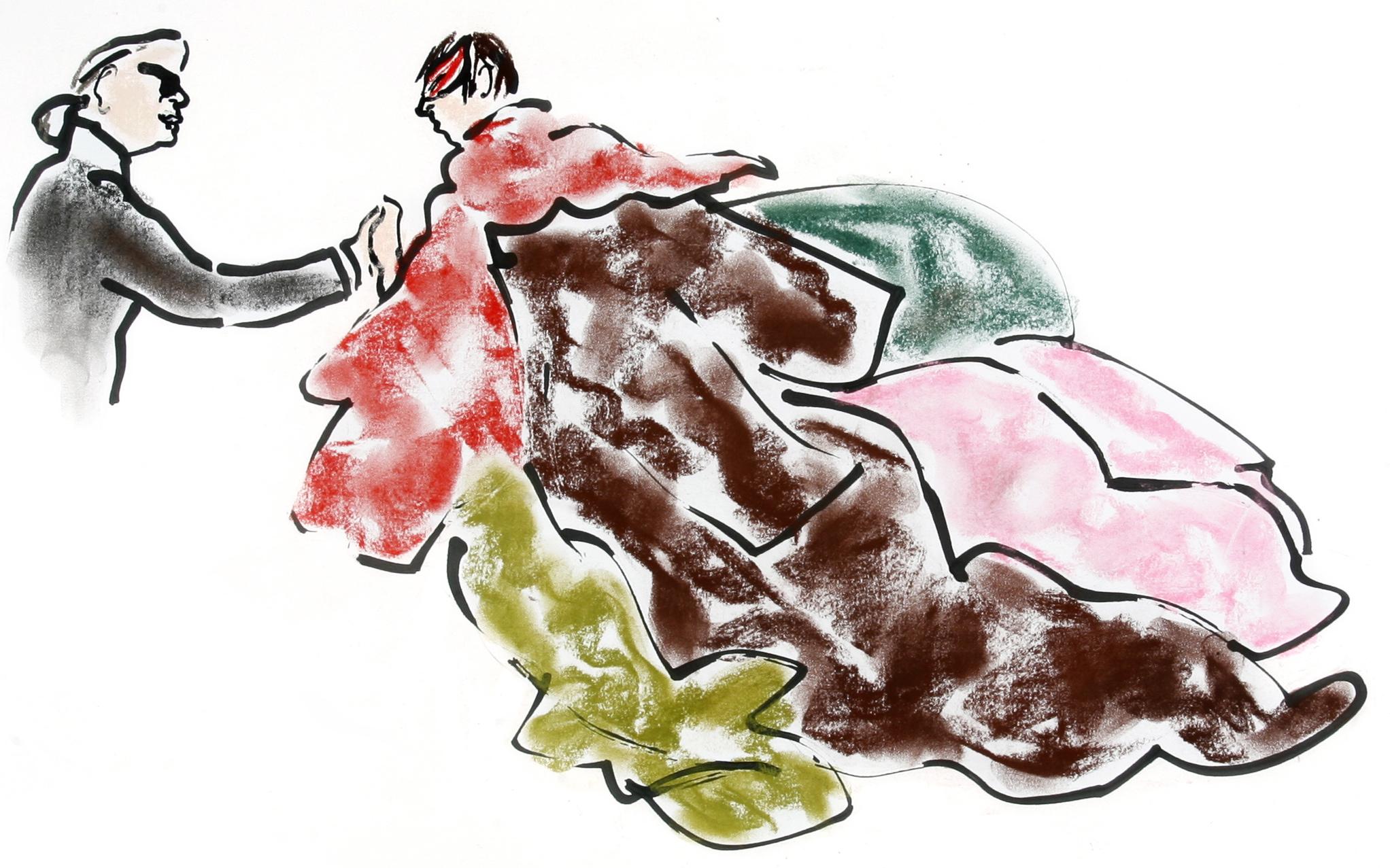 Illustration by Gladys Perint Palmer