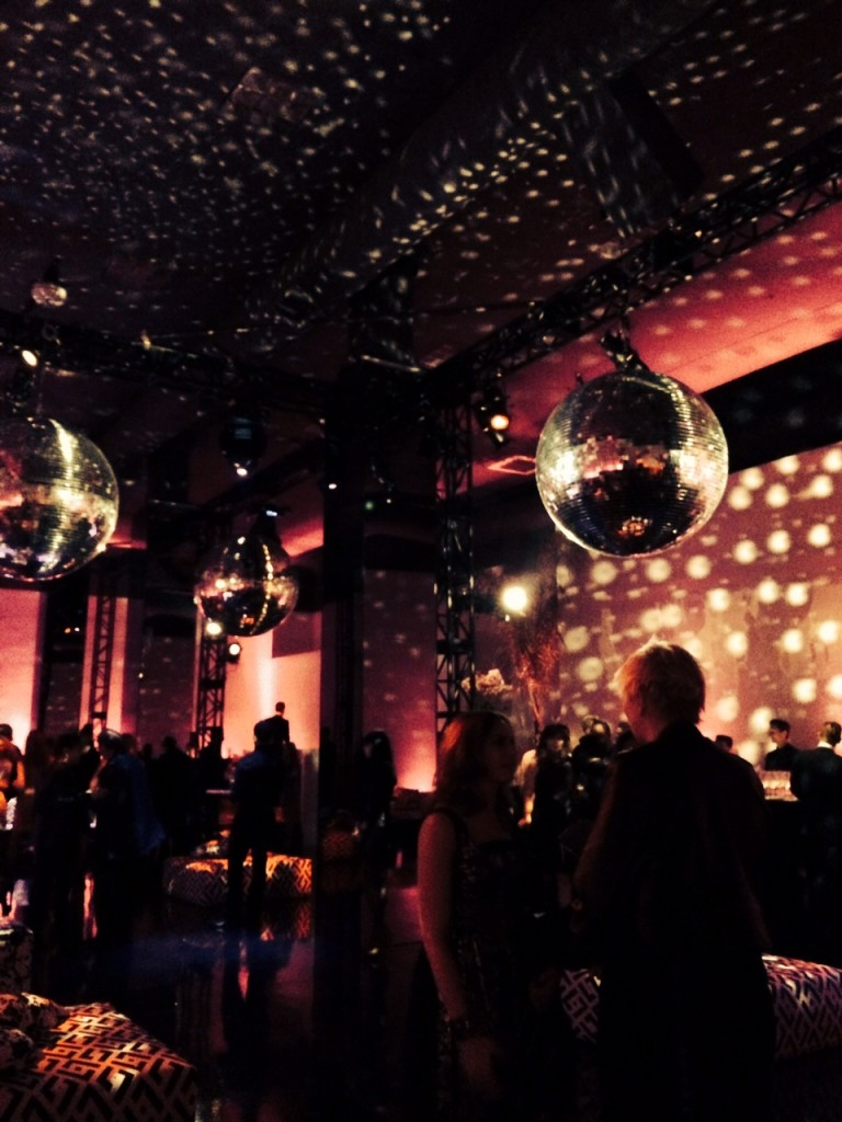 The Studio 54-inspired party space.