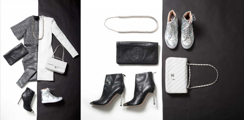 """""""Trend as inspiration: Black and white / day and night,"""" styled by Melissa Stefanny, Damien Chandra and Bo Young Kong"""