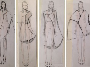 Illustrated Lineup of Detro's Spring 2015 Collection