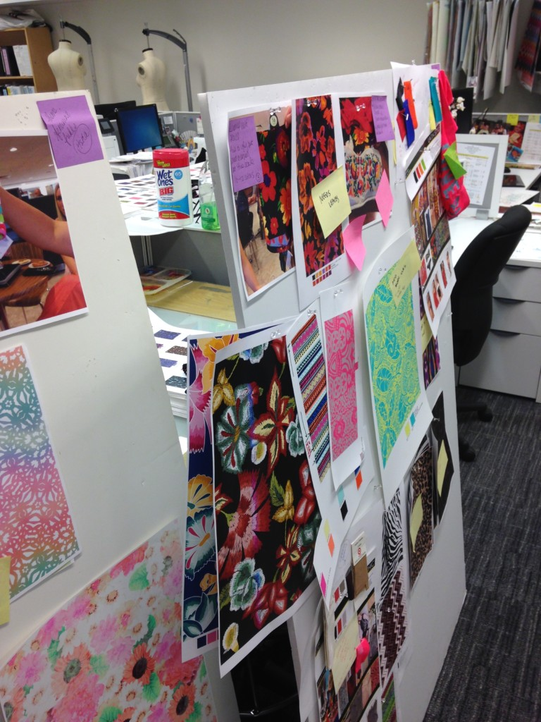 Khawane's workspace at Li & Fung