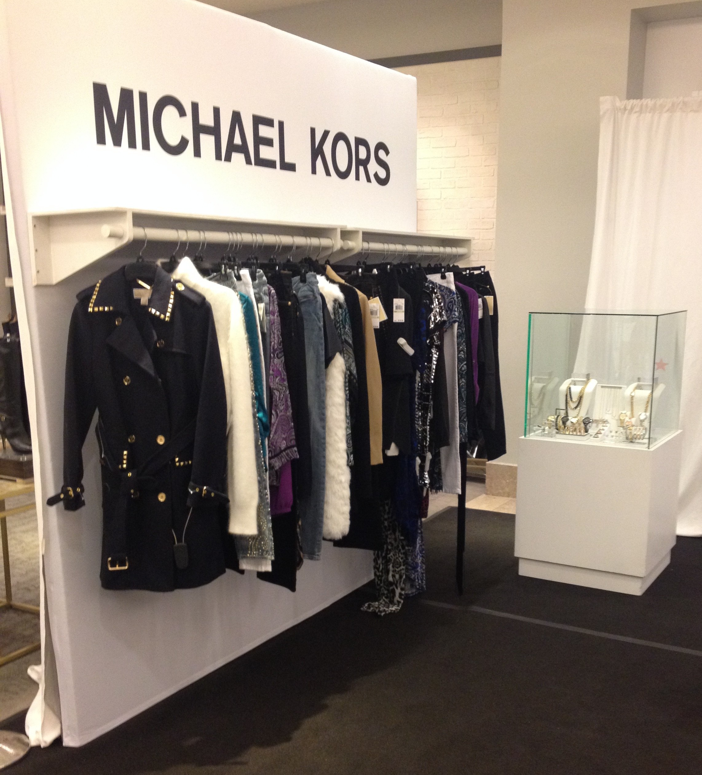 A view of some of the trend forward Fall pieces from the Michael Kors line at Macy's.