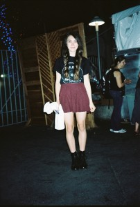 Street style at the Lorde Concert; photo by Aldo Carrera