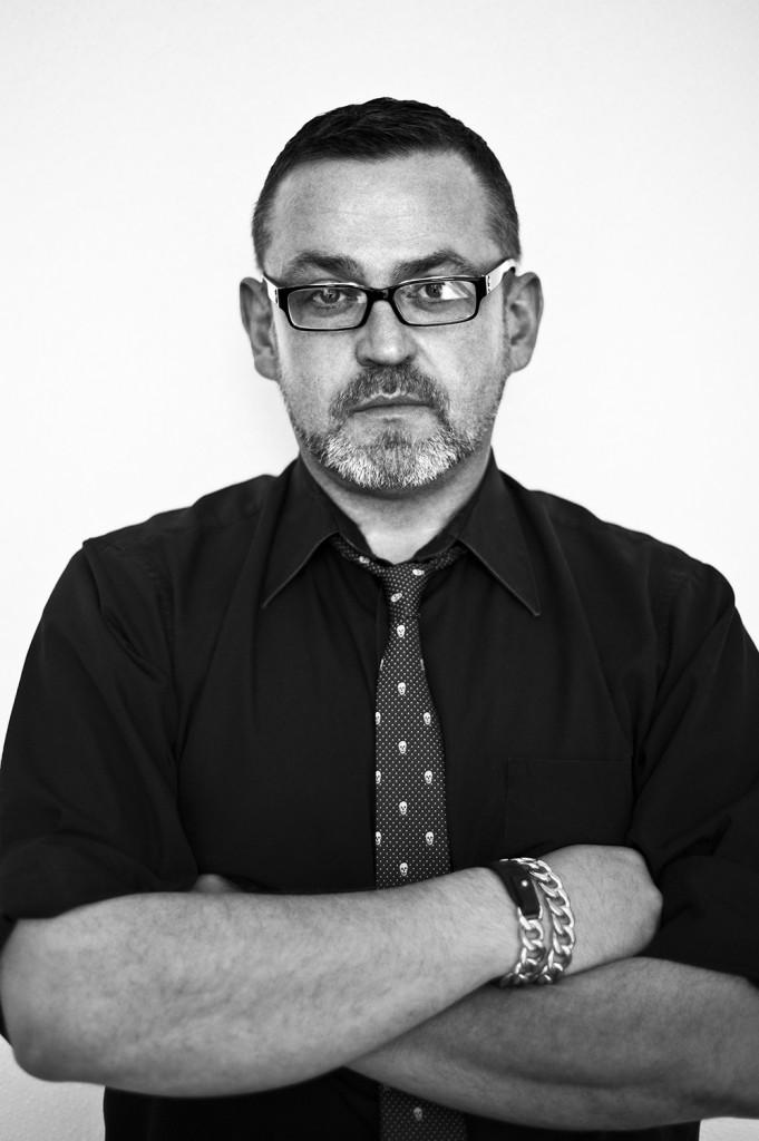 Simon Ungless, shot by Isabella Bejarano.
