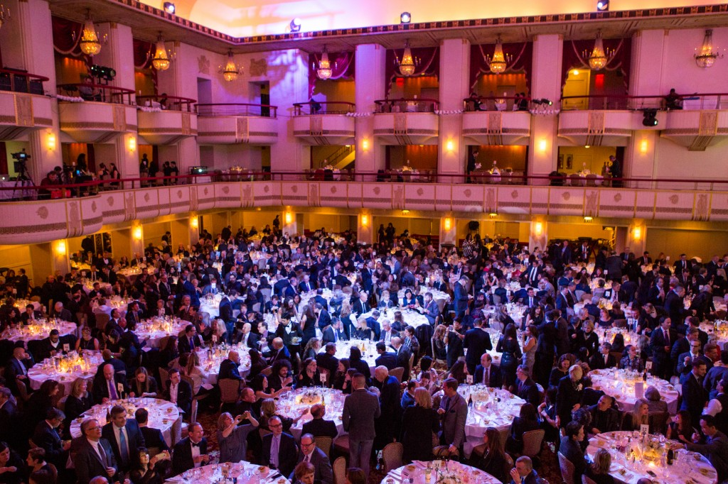 A packed house looked on as students accepted their awards. Photo courtesy of YMA-FSF.