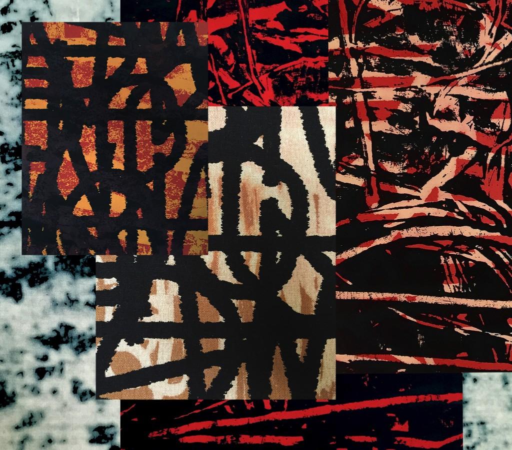 Textiles by Ghazaleh Khalifeh