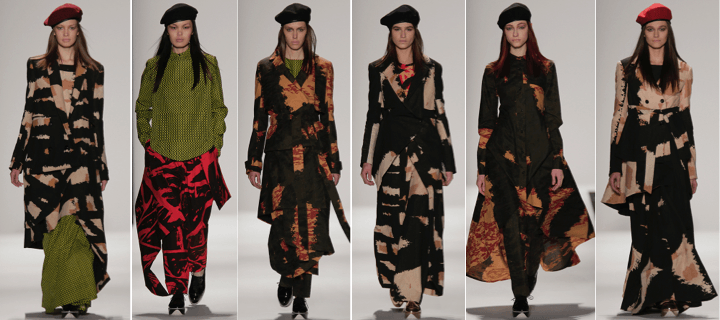 Fall 2015 collection by Emmanuelle Ciara Jones and Ghazaleh Khalifeh