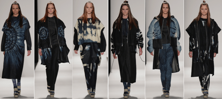 Fall 2015 collection by Xiaowei Liu