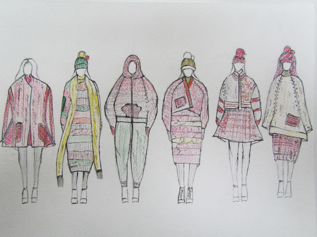 Gisel Ko's illustrated lineup.