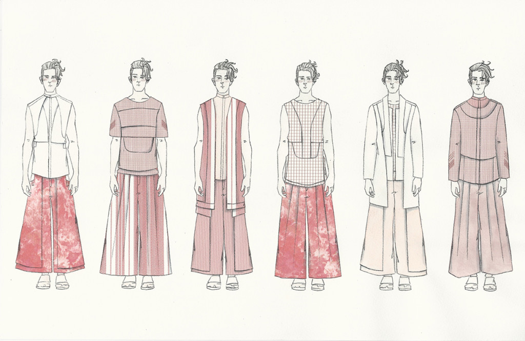 Dominic Tan's illustrated lineup.