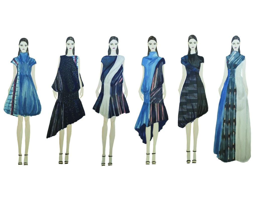 Amanda Manashi's illustrated lineup.