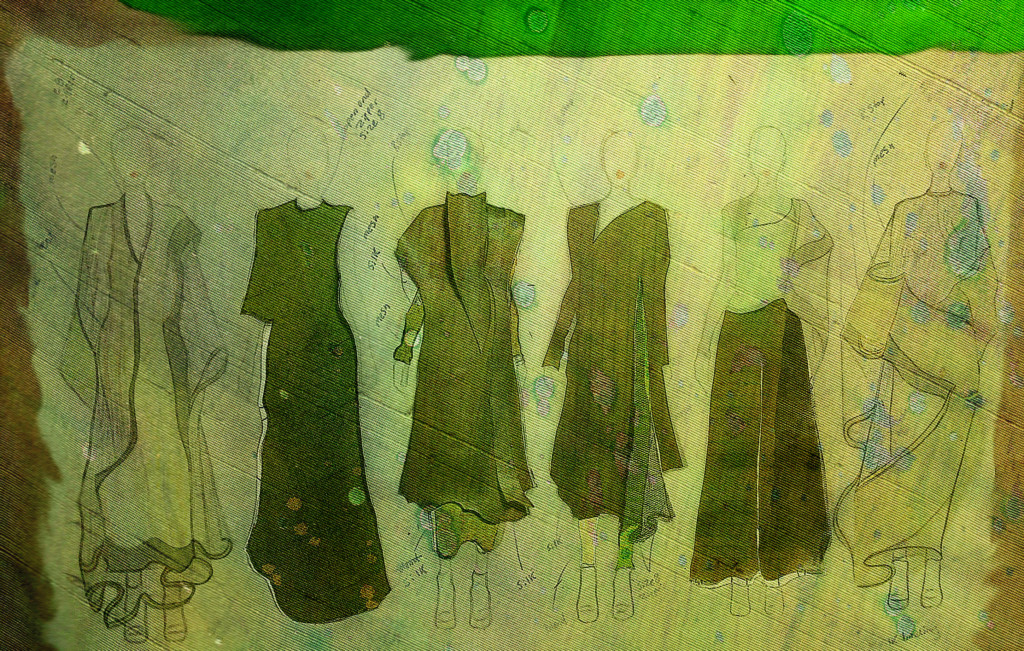 Lauren Giovanna Nypaver's Graduation Collection line-up.