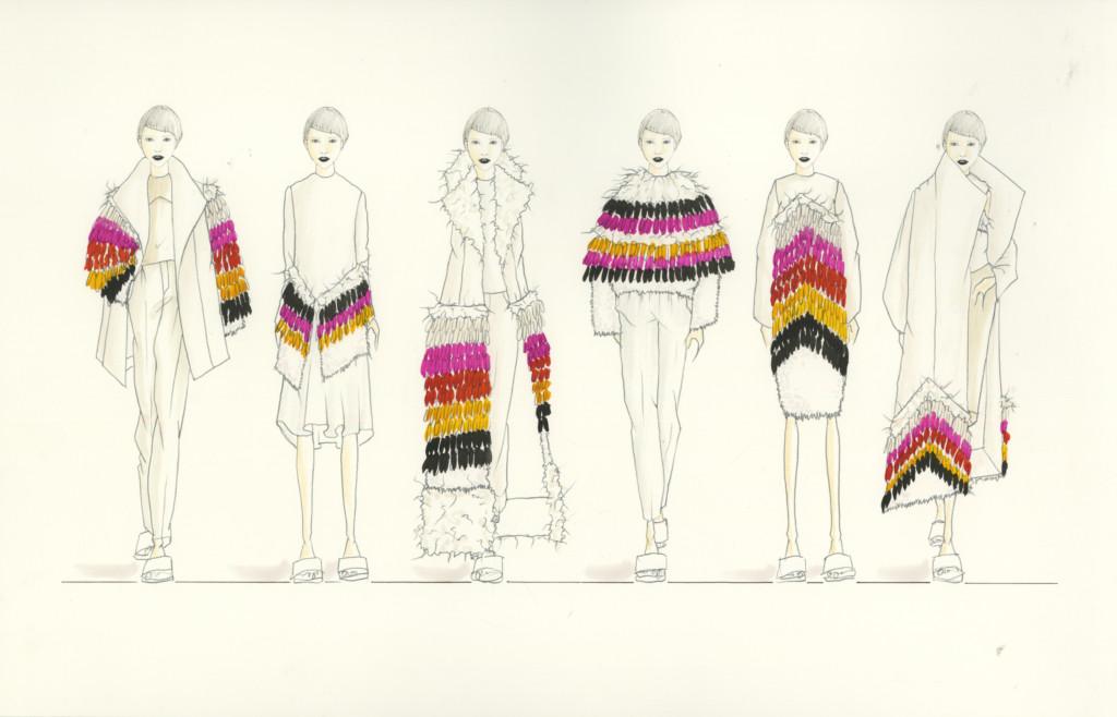 Lineup by Linka Rowland.