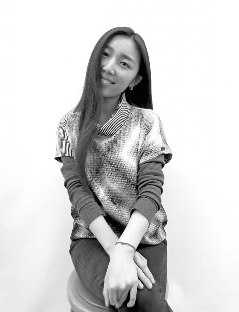 BFA Fashion Design student, Yao Shuman. Image: Rob Curry
