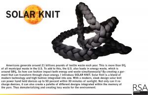 """Munoz's """"Solar Knit"""" Image: courtesy of Jc Munoz"""