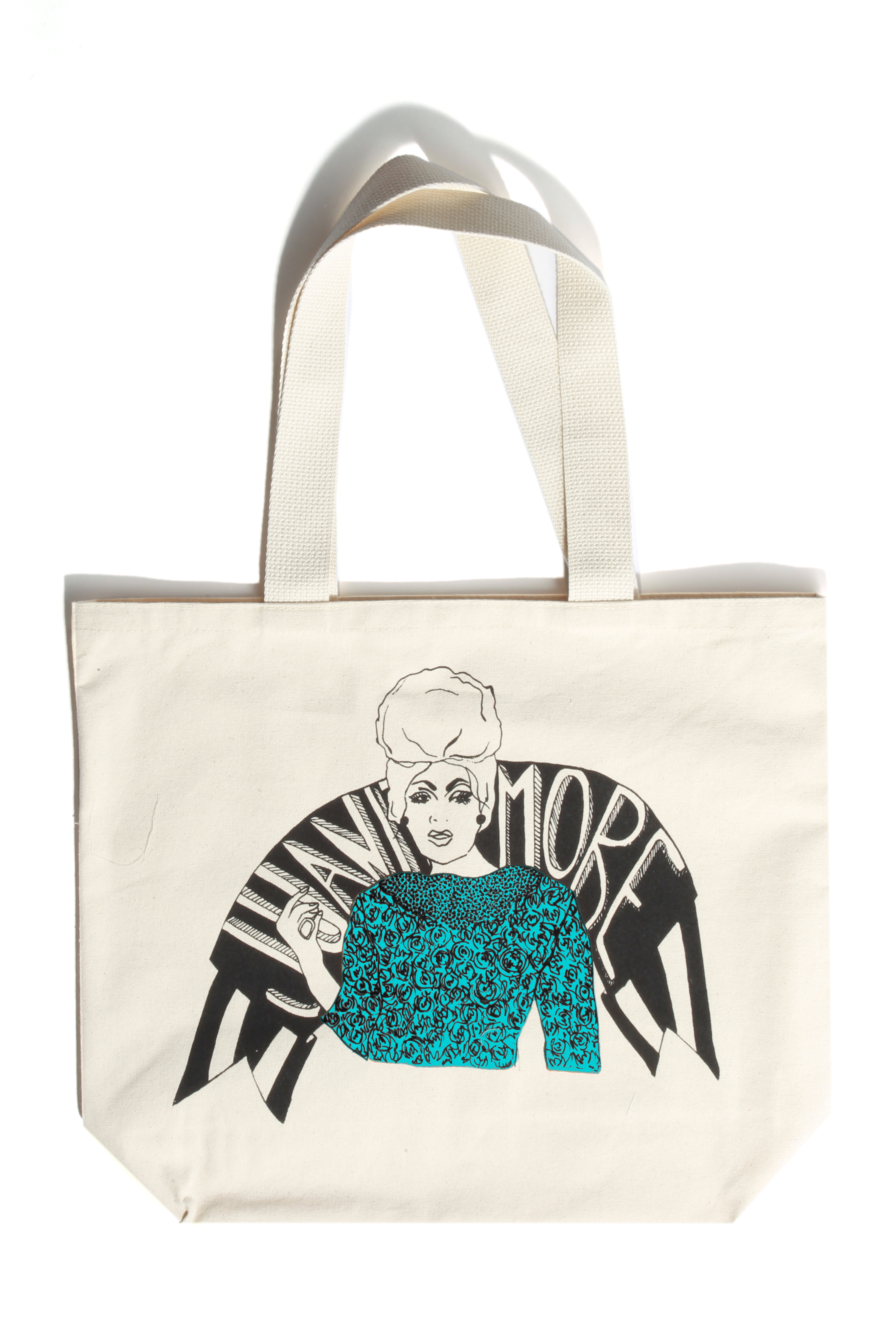 A tote designed by Jenny Johansson.