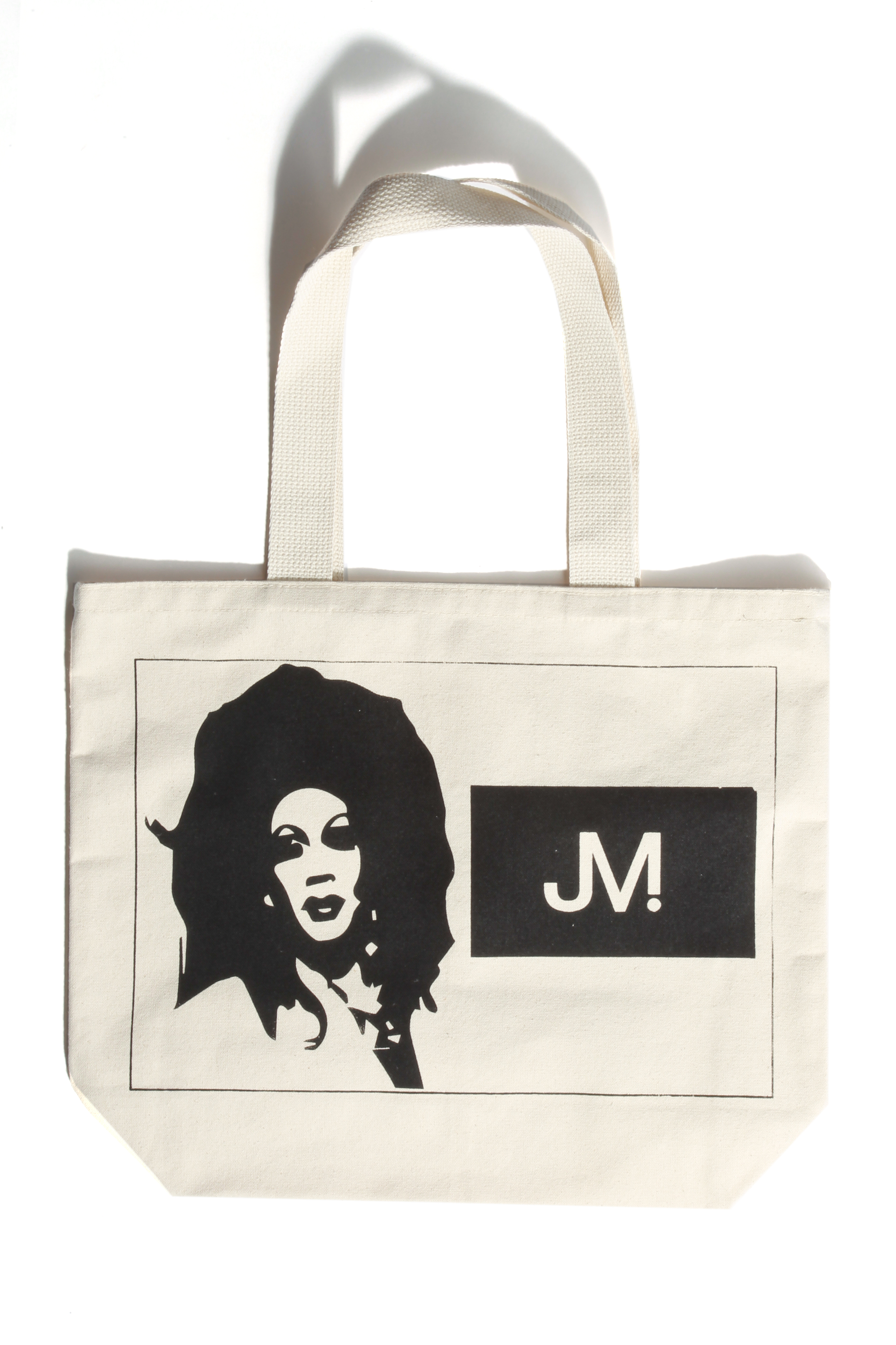 A tote designed by Sho Littlefield.