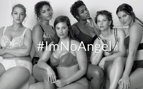 Lane Bryant's #ImNoAngel Campaign went viral and got attention to the plus sized lingerie brand