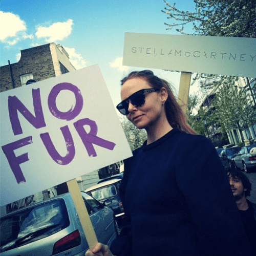 Stella McCartney's approaching 'Sustainable' campaign