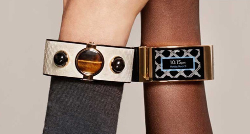 Rebecca Minkoff debuted bracelet-style wearables; Image via Tumblr.com
