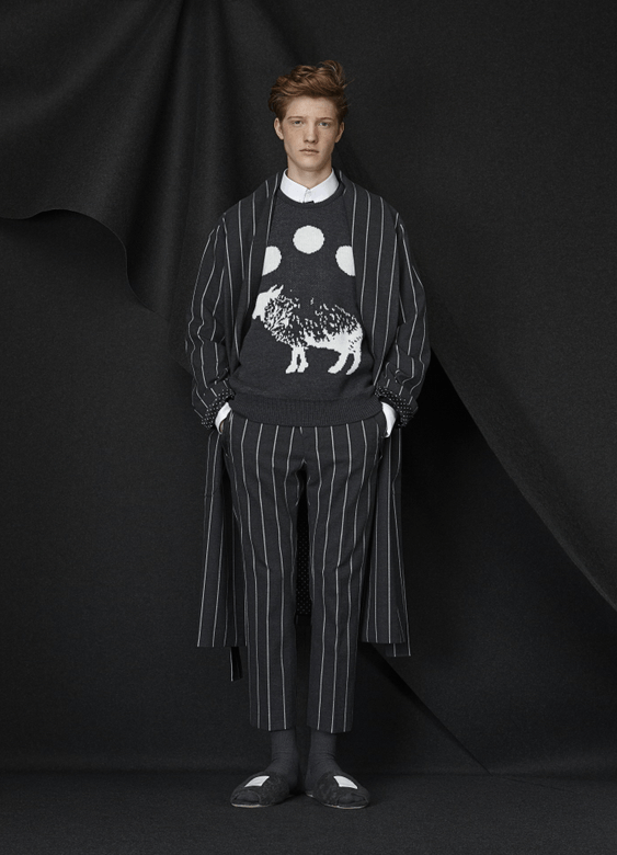 """""""'Can't Sleep, Count Sheep' Fall/Winter 2015 collection,"""" Photo: Munsoo Kwon's website."""