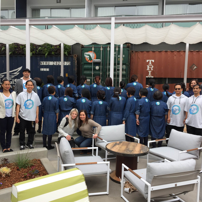 Hotel Zephyr staffs in Fleis' collection. Photo courtesy: Melissa Fleis