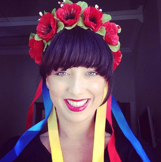 Elena Slivnyak. Photo courtesy of Elena Slivnyak