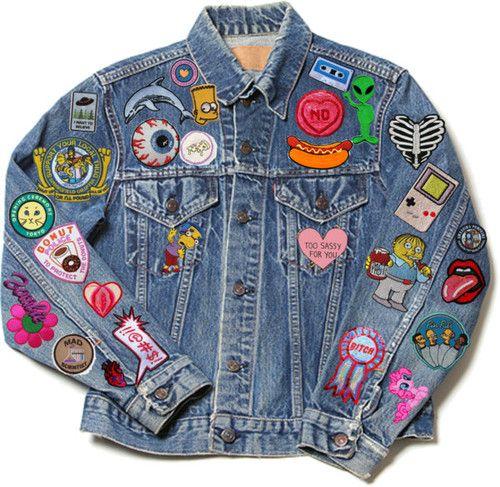 Custom-Made Patched Denim Jacket | AcademyUFashion Blog