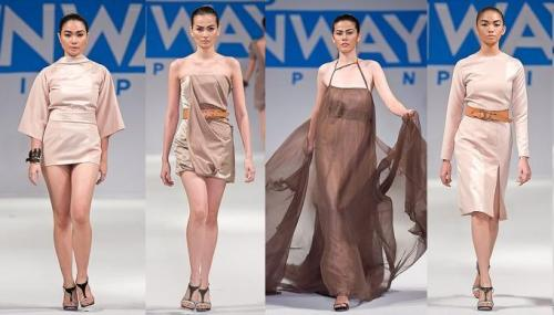 Veejay Floresca's collections on Project Runway Philippines Season 1. Photo courtesy of Project Runway Philippines.