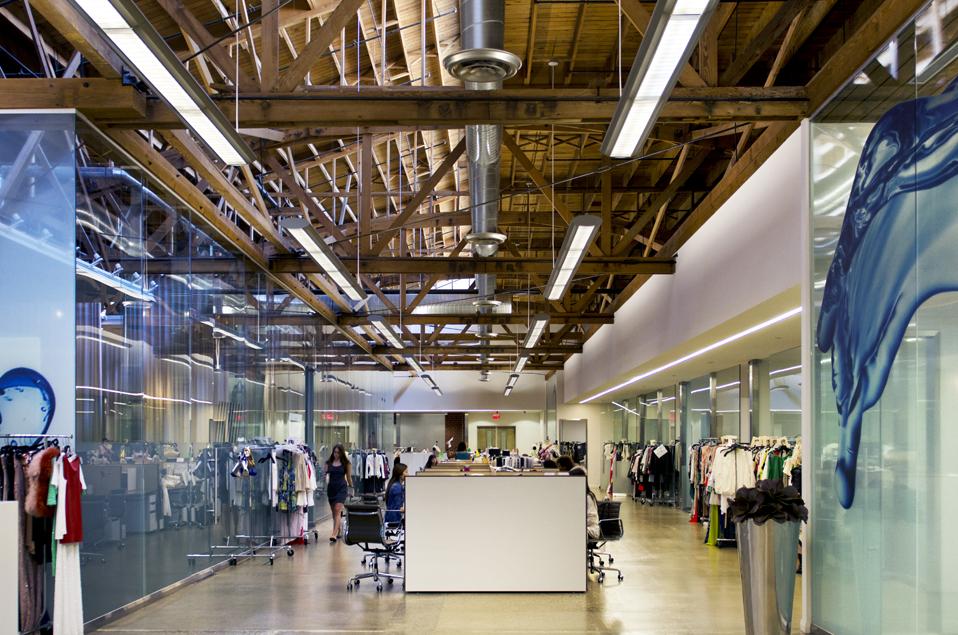 The BCBG headquarters in Vernon, California. Image Courtesy: thepresidentwearsprada.com