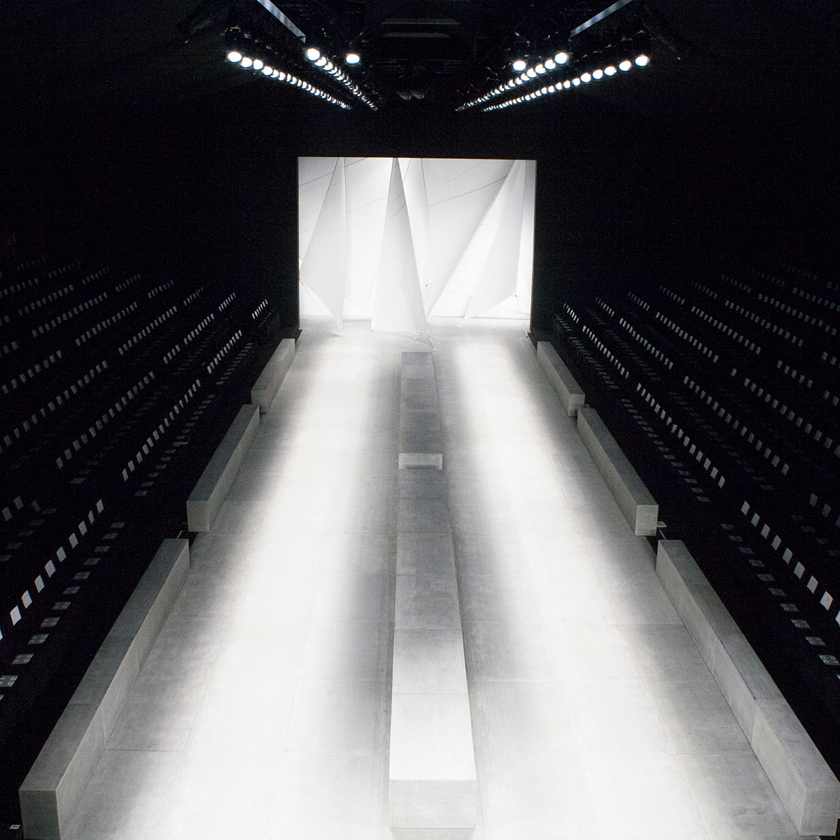 Immediacy in fashion for Runway stages