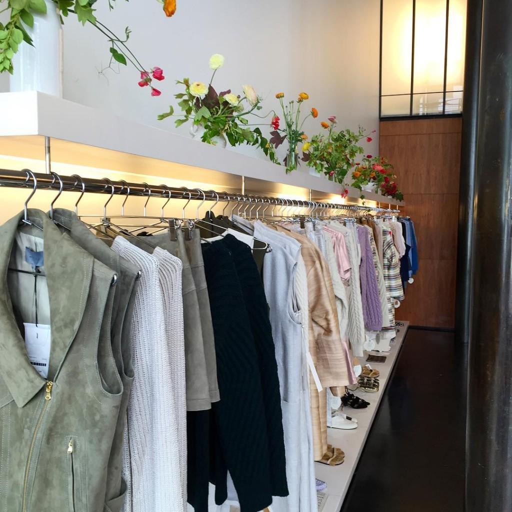 Amanda Hearst and Hassan Pierre's Maison de Mode pop-up store at 125 Maiden Lane. Image source: https://www.instagram.com/hassanpierre/