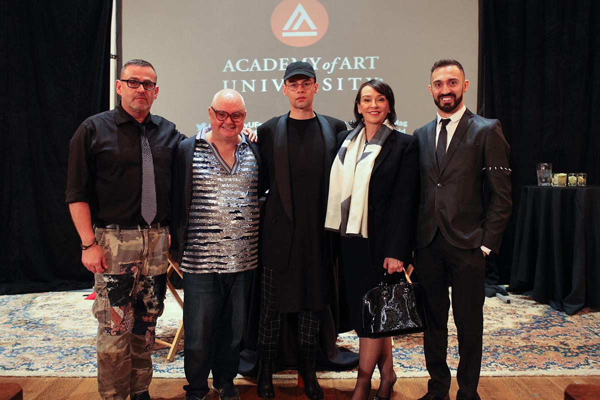 Simon Ungless, Mickey Boardman, Lars Petersen, Elisa Stephens, and Stephan Rabimov