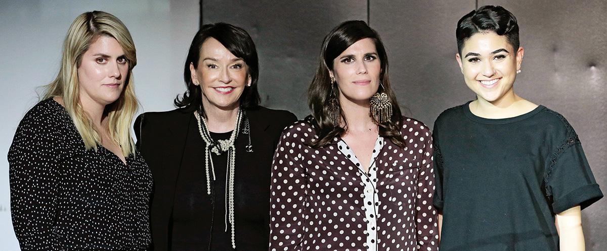 Kate Mulleavy, Elisa Stephens, Laura Mulleavy, Celine Sohrabian
