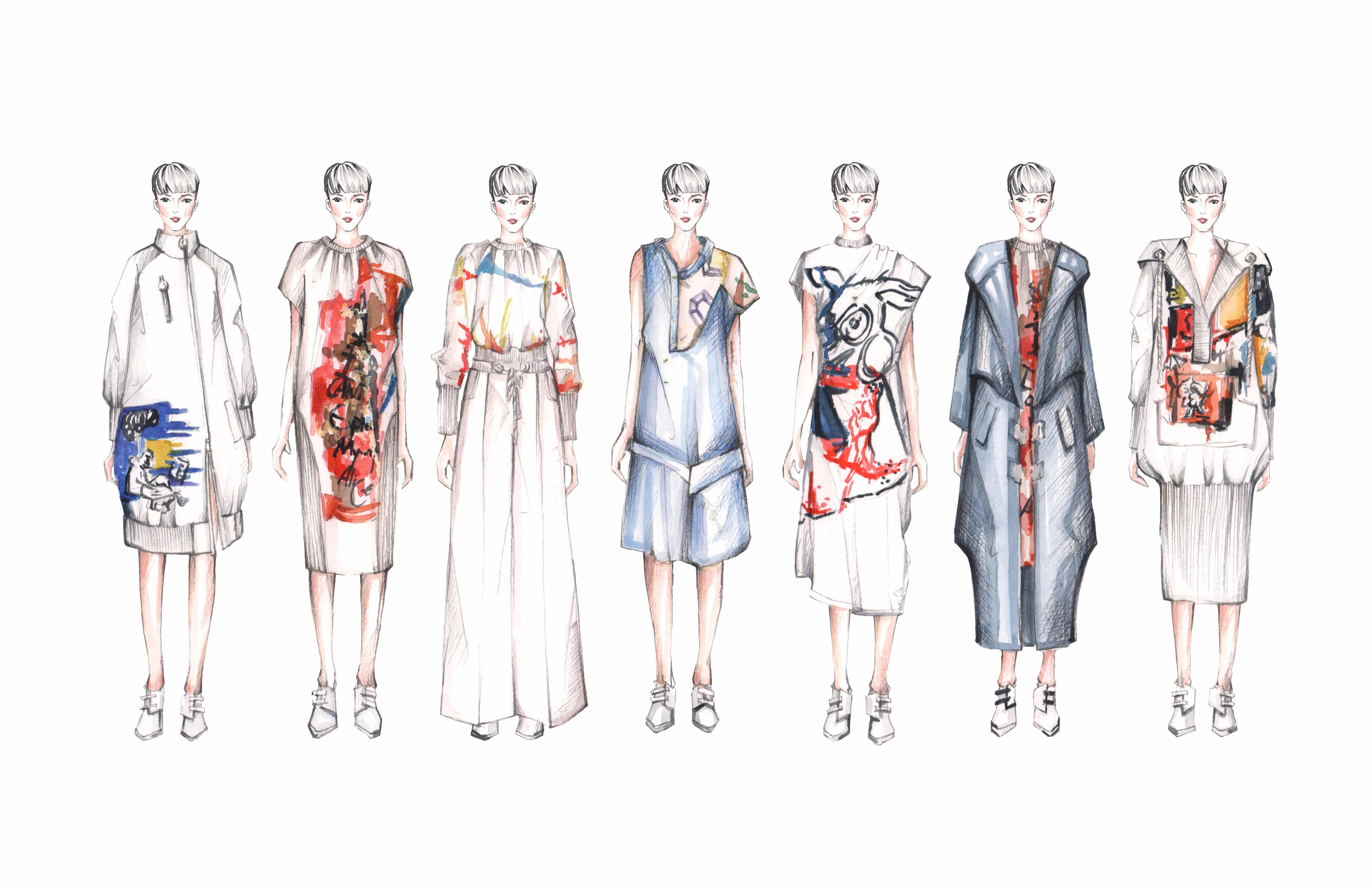 Illustrated lineup courtesy of Yuki Zhang