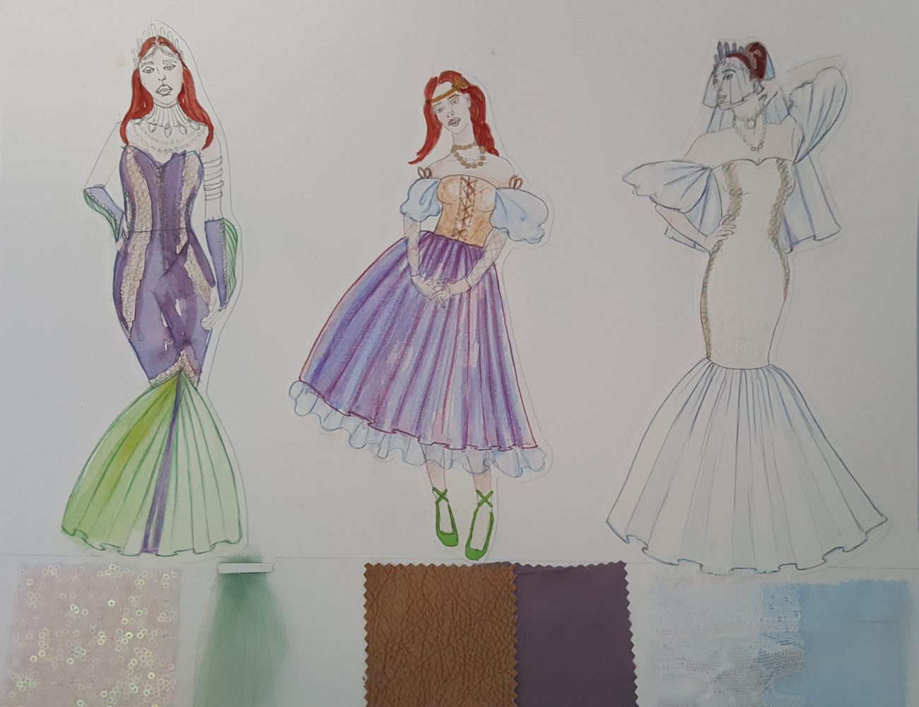 Fashion Design That Involves Costume Like Garments