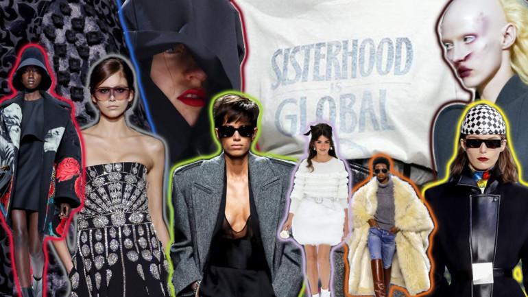 paris fashion week collage