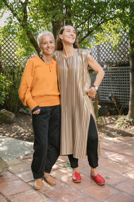 Designer Maria Cornejo and Chef Gabriela Cámara